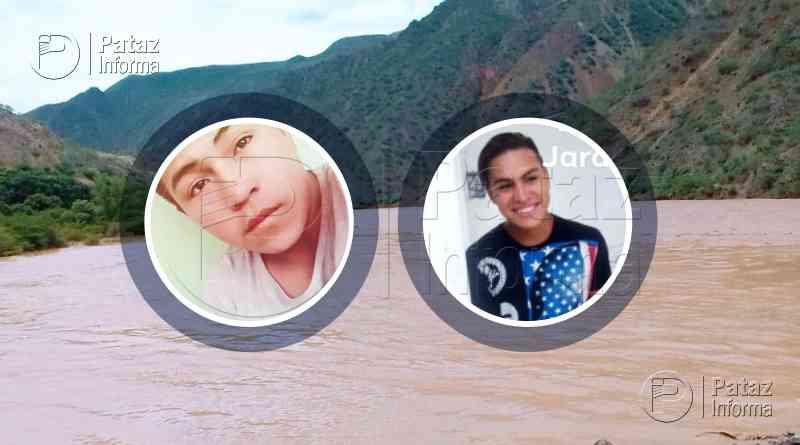 Dos hermanos fueron arrastrados por el río Marañón en Pataz