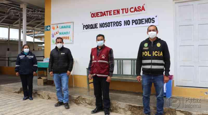 Fumigarán calles y establecimientos públicos de Tayabamba