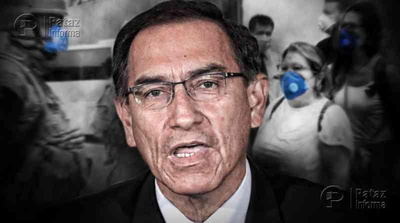 Martin Vizcarra amplía el estado de emergencia hasta el 12 de abril