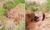 Camioneta sufrió aparatoso accidente en la ruta Huaylillas – Tayabamba