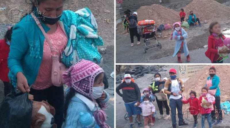 Comisión enrumbó a Chuquicara buscando ayudar a patacinos