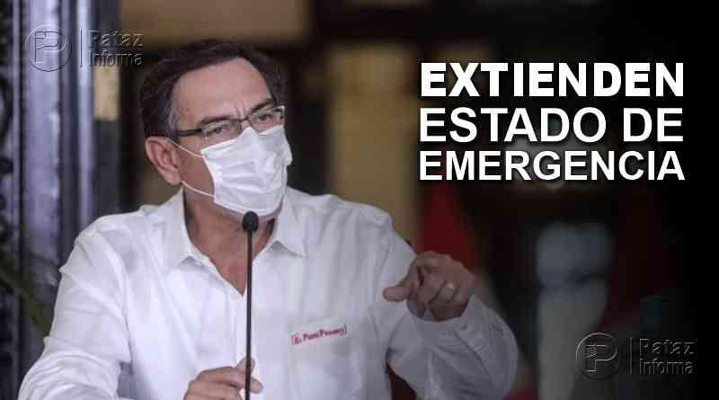 Vizcarra extiende estado de emergencia por dos semanas más