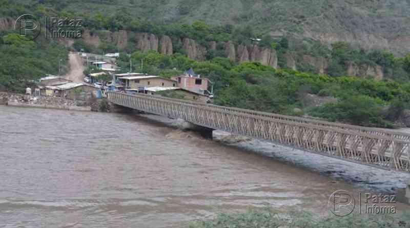 Amigos fueron arrastrados por aguas del río Marañón en Pataz