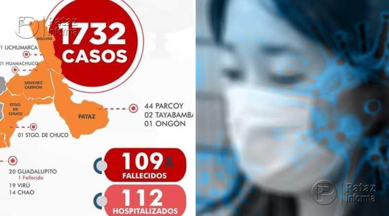 Aumentan casos de covid en Pataz. Huamachuco reportó primer caso