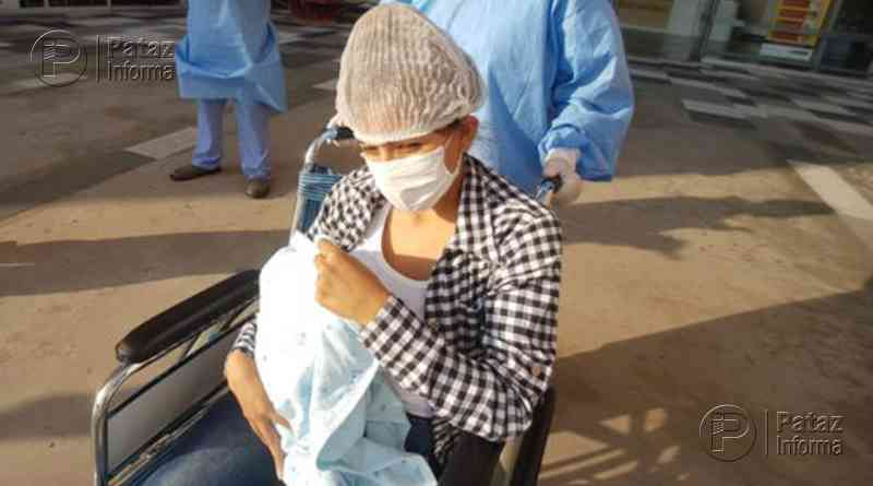 Bebé con cardiopatía vence a la COVID-19 tras 21 días de hospitalización