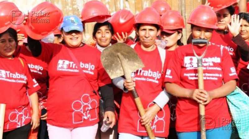 Eligen doce proyectos a ejecutarse a través del programa Trabaja Perú