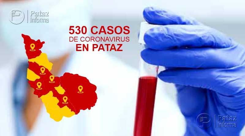 Casos de coronavirus en la provincia de Pataz sigue en aumento