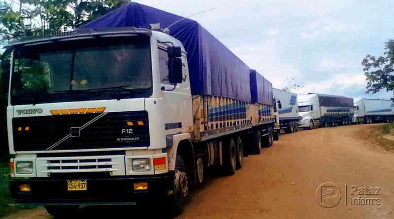 Multas y horarios para la circulación de vehículos de carga pesada