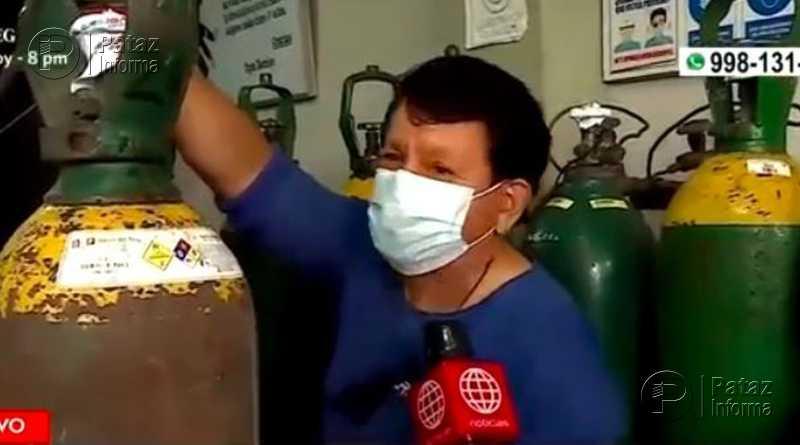 Vendedor de oxígeno para pacientes con COVID-19 no sube precios