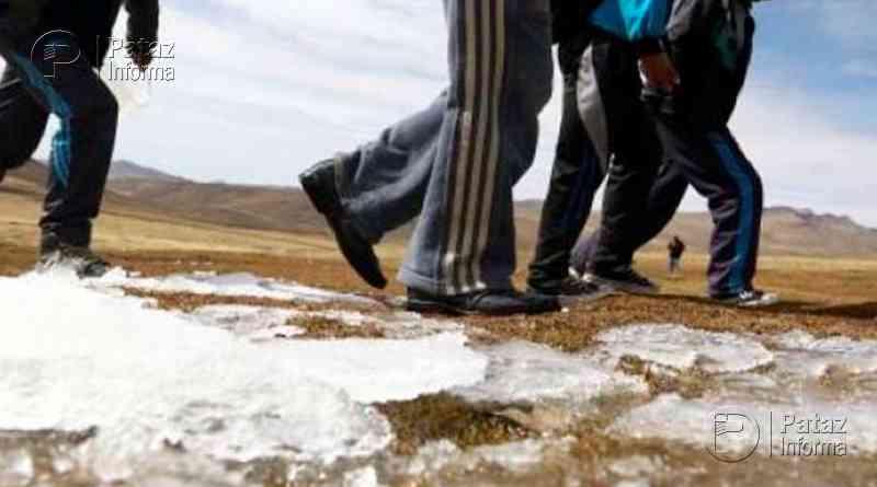 Temperatura nocturna en la sierra descenderá hasta los cero grados
